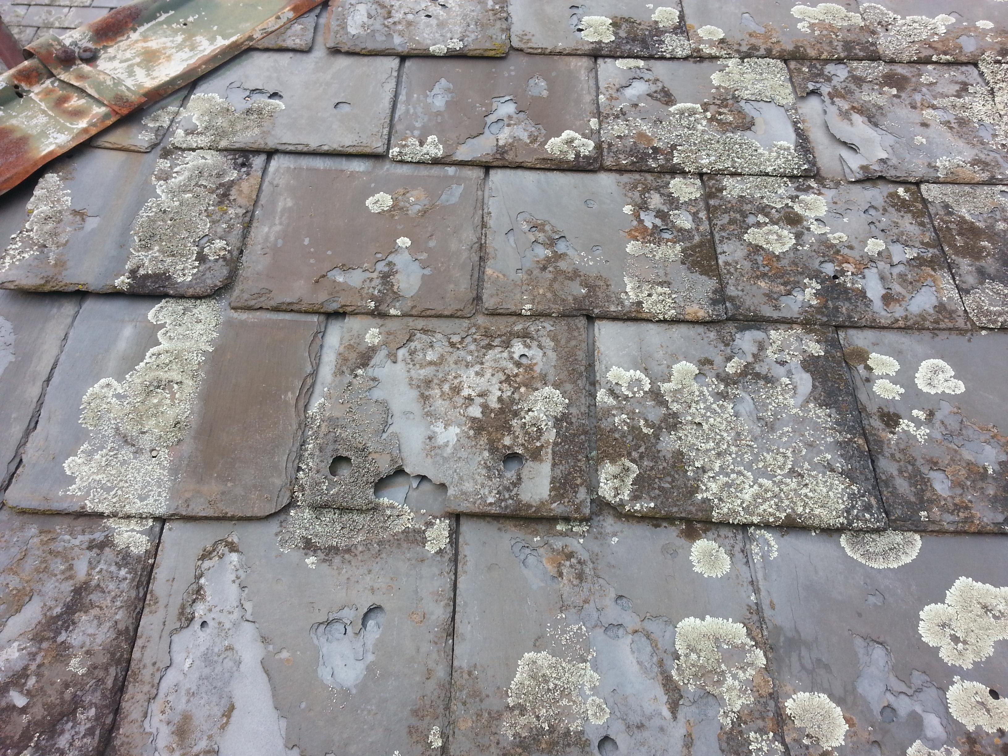 damaged slate roofing Melbourne