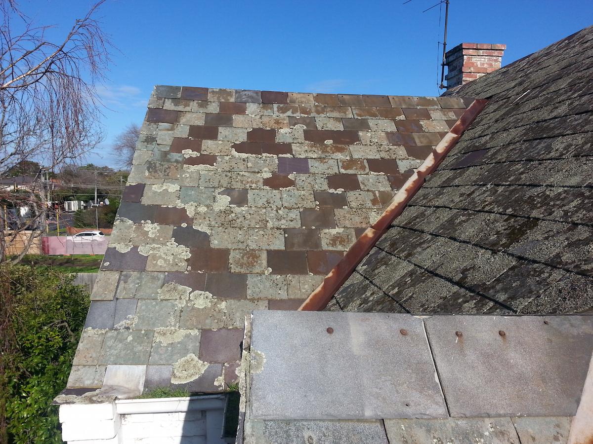 slate roof one